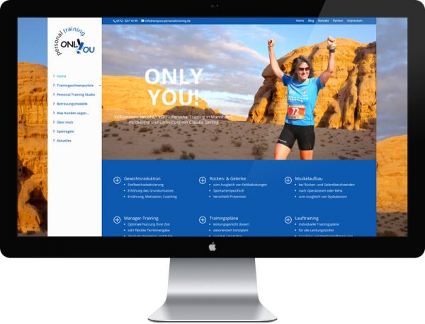 Only You – Personal Training